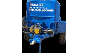 Прицеп ПККД-20 с поливомоечным оборудованием высокого давления